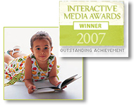 KidsReadingCircle.com won the IMA Outstanding Achievement in Kids Educational Web sites this fall.